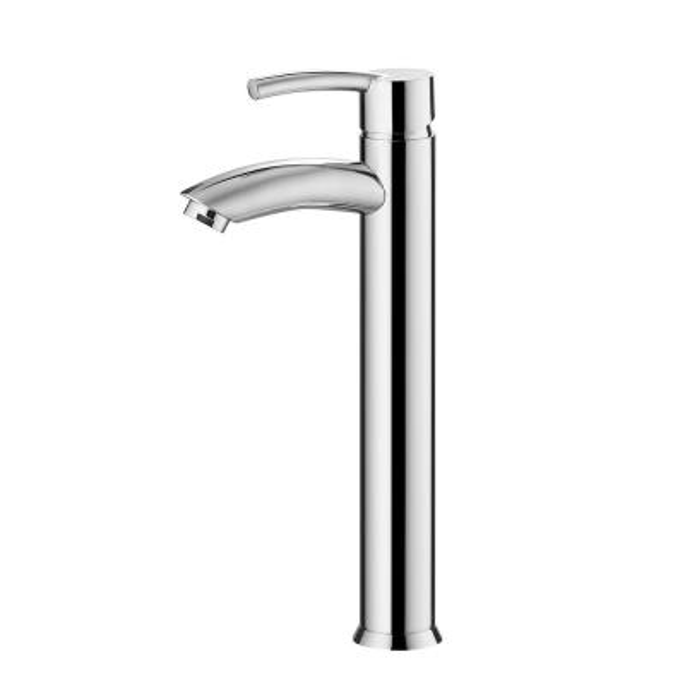 Jayne Single Hole Single-Handle Bathroom Faucet in Polished Chrome