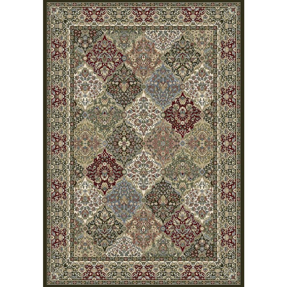 Dynamic Rugs Ancient Garden Multi Panel 9 ft x 13 ft