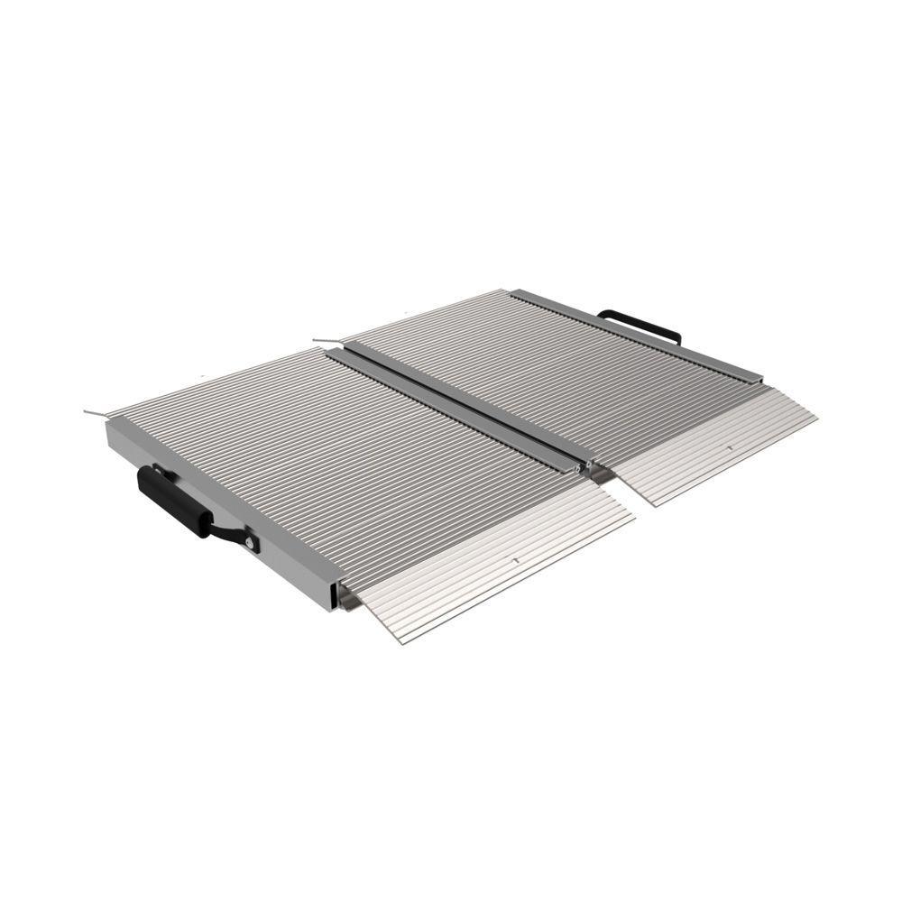 Traverse 2 ft. Aluminum Single Fold Edgeless Ramp