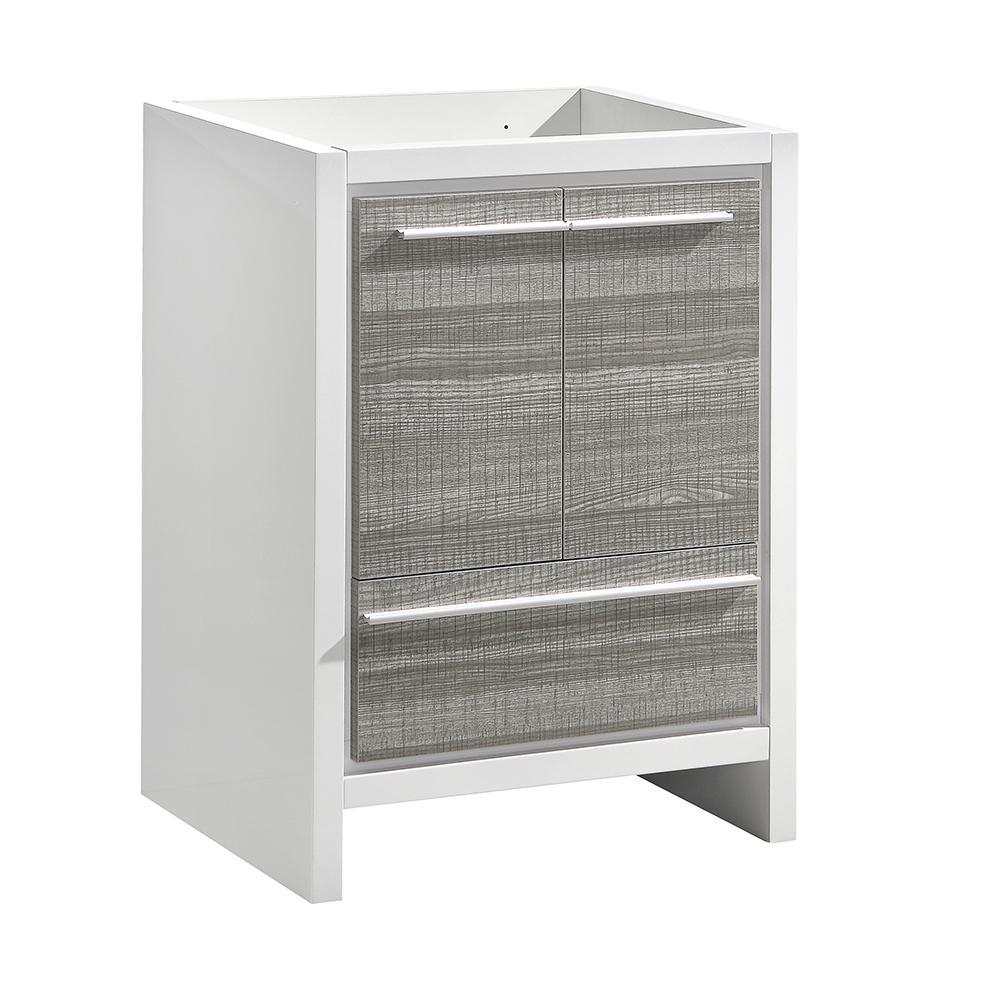 Allier Rio 24 in. Modern Bathroom Vanity Cabinet in Ash Gray