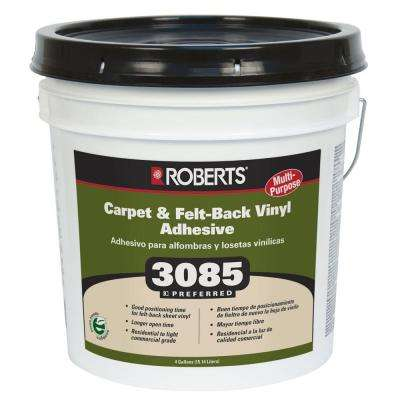 3085 4-gal. Multipurpose Carpet and Felt Back Vinyl Adhesive