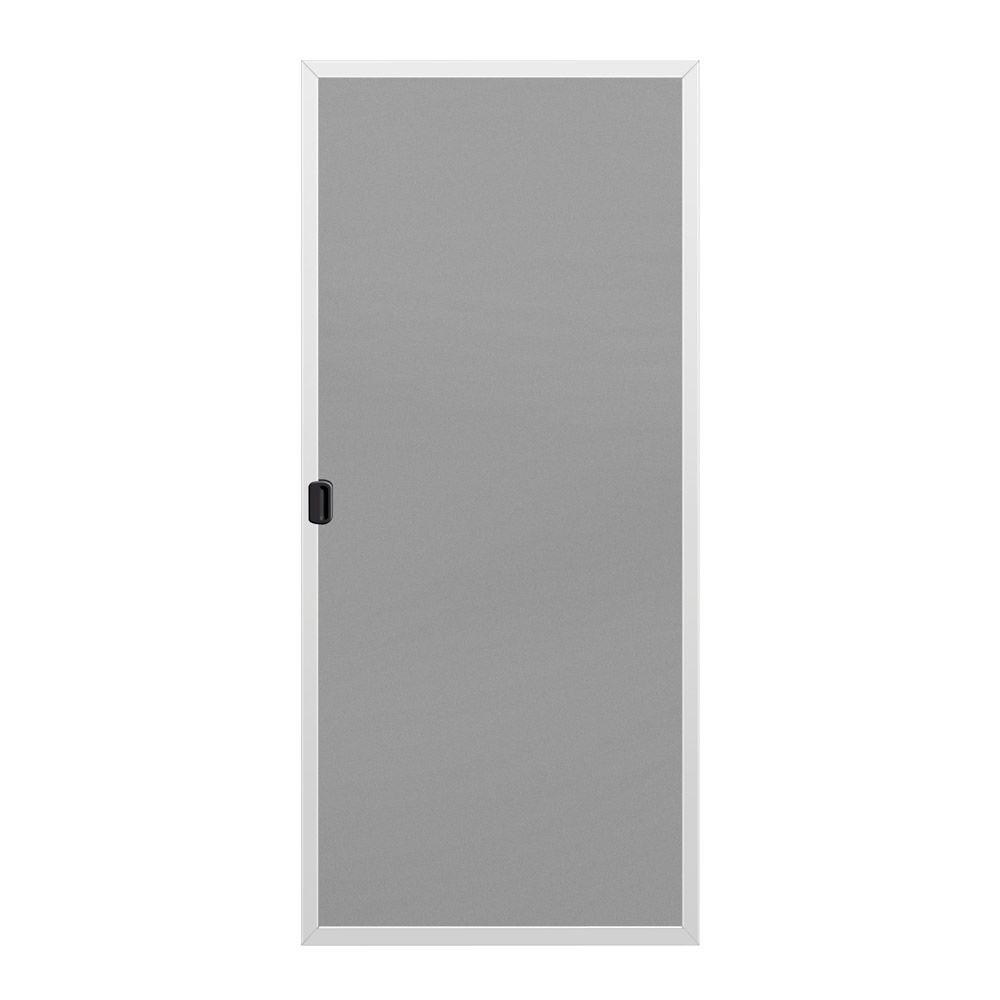 JELD WEN 36 In. X 80 In. A 200 Series White Aluminum