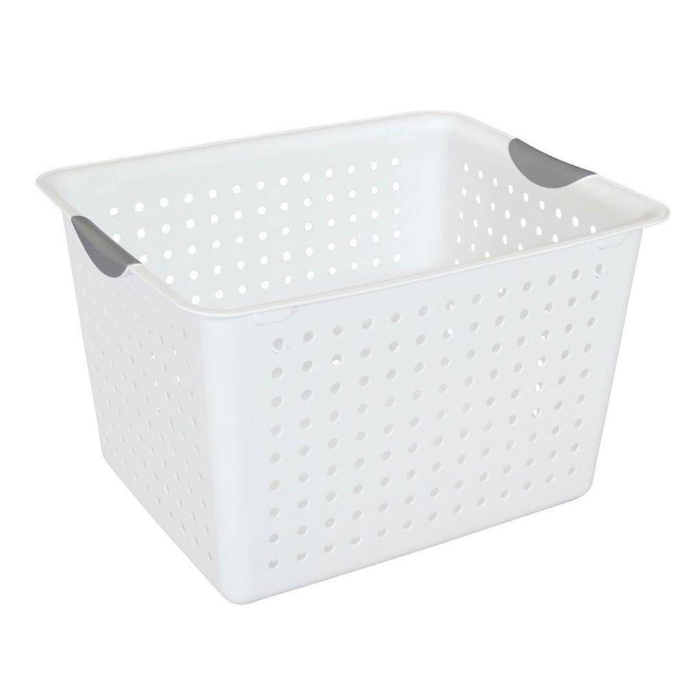 Sterilite Deep Ultra Storage Basket (6-Pack)  sc 1 st  The Home Depot & Sterilite Deep Ultra Storage Basket (6-Pack)-16288006 - The Home Depot