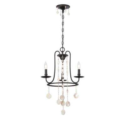 Matira 3-Light Oil Rubbed Bronze Chandelier