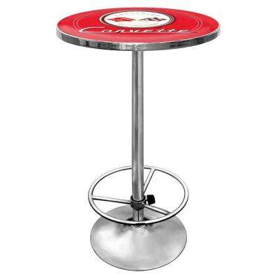 Corvette C1 Chrome Pub/Bar Table