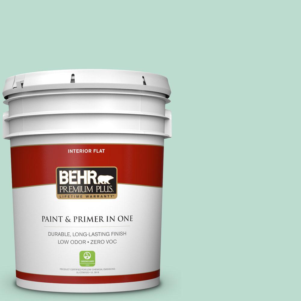 BEHR Premium Plus 5-gal. #M420-3 Mirador Flat Interior Paint