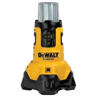20-Volt MAX Lithium-Ion Corded/Cordless LED Large Area Jobsite Light with Tool Connect and Built-In Charger (Tool-Only)