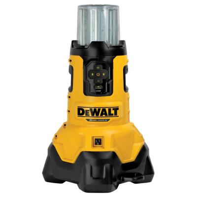 20-Volt MAX Corded/Cordless LED Large Area Jobsite Light with Tool Connect & Built-In Charger