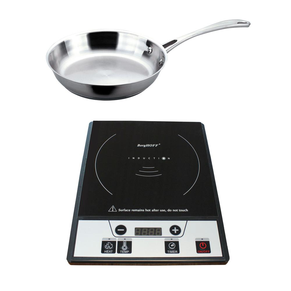 Tronic 12 in. Induction Cooktop in Black with 1 Element and