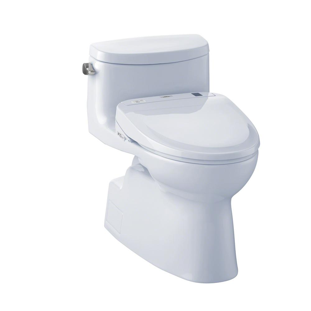 toto carolina ii connect 1 piece gpf elongated toilet with washlet s350e bidet seat and. Black Bedroom Furniture Sets. Home Design Ideas