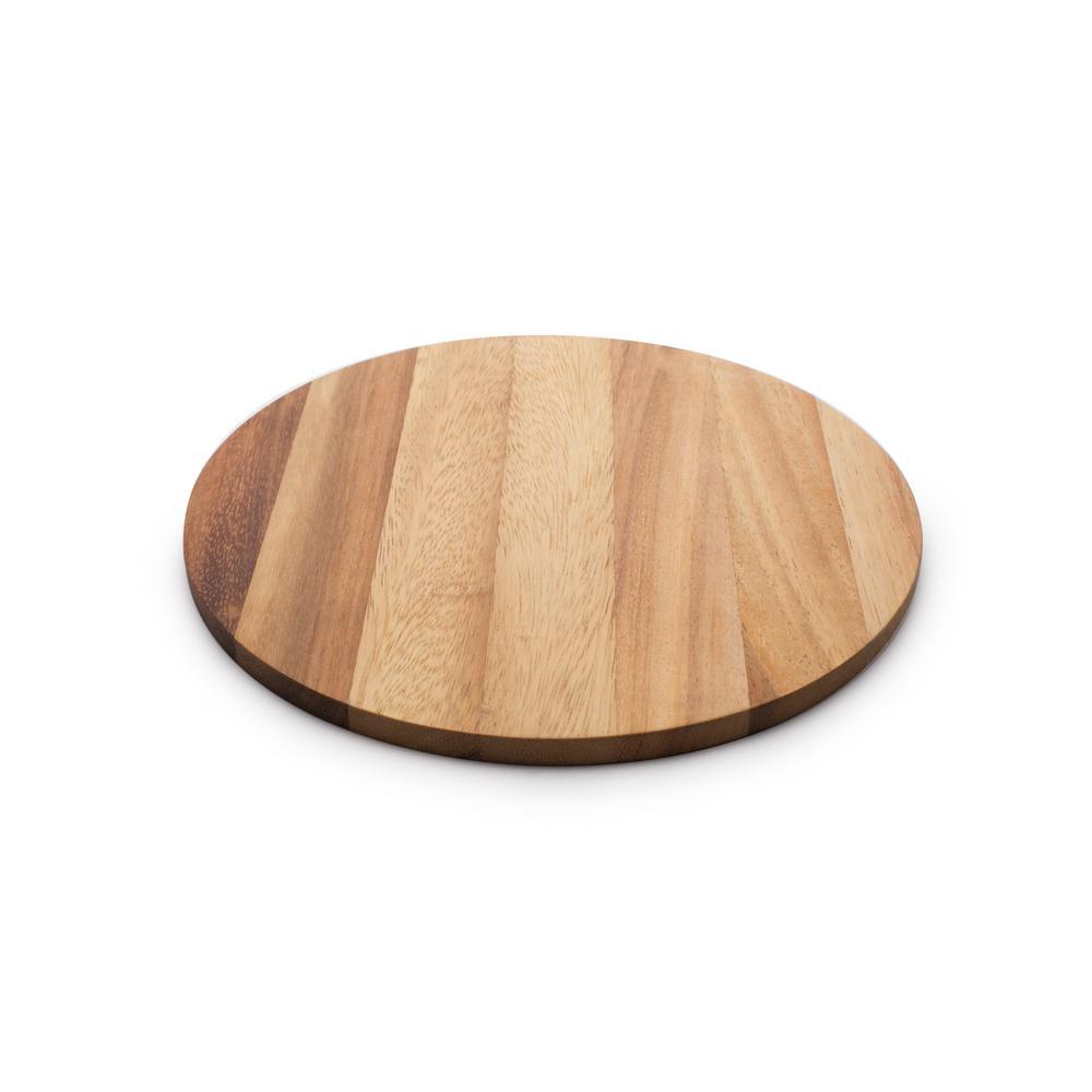 10 mm Acacia Wood Circle Serving Board