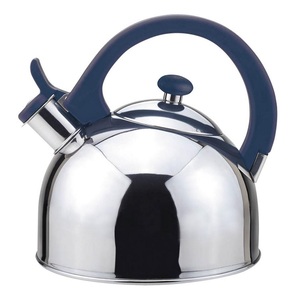 Acacia 2 Qt. Stainless Steel Stovetop Tea Kettle with Whistle in