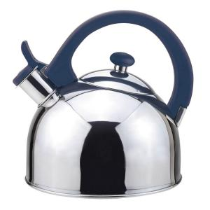 Magefesa Acacia 2 Qt. Stainless Steel Stovetop Tea Kettle with Whistle in Blue by Magefesa
