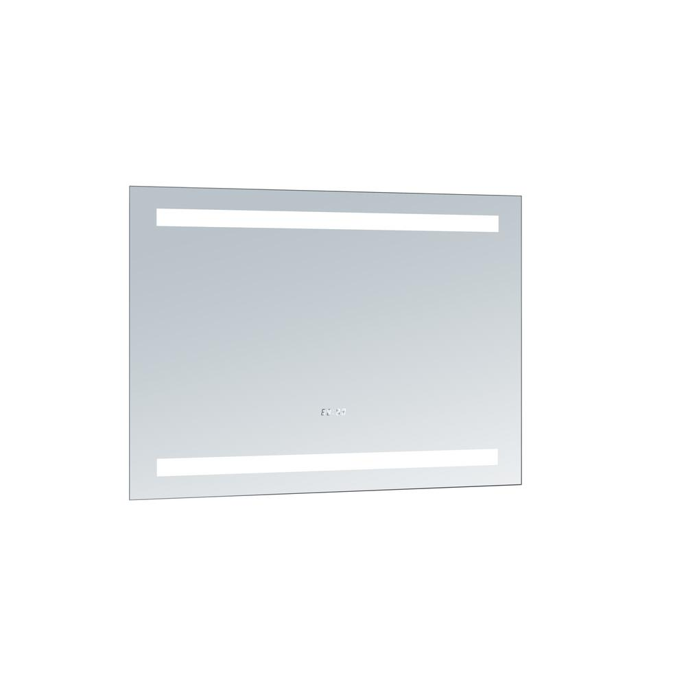 innoci-usa Selene 38 in. x 28 in. LED Mirror, Mirrored