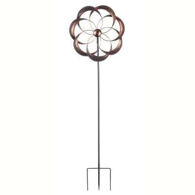 Lotus Kinetic Dual Outdoor Wind Spinner