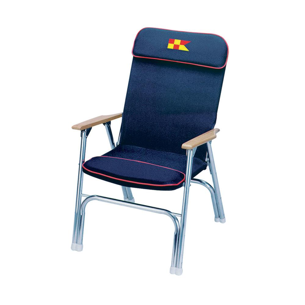 Eez In Designer Series Padded Deck Chair