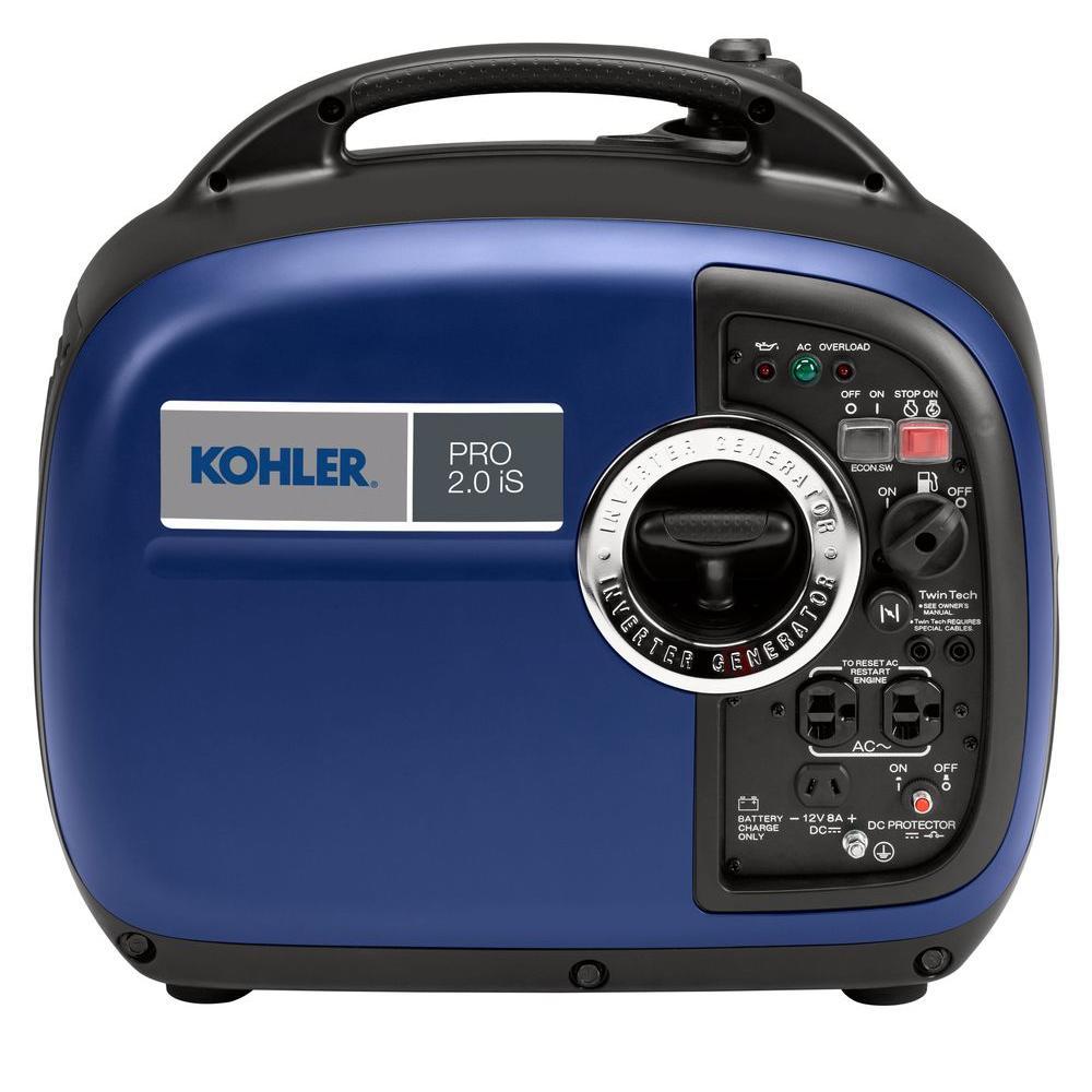 KOHLER 2,000-Watt Super Quiet Gasoline Powered Portable