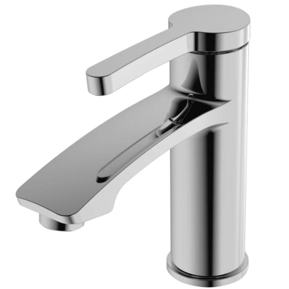 Y Decor Luxurious Single Hole Single-Handle Bathroom Faucet in Chrome