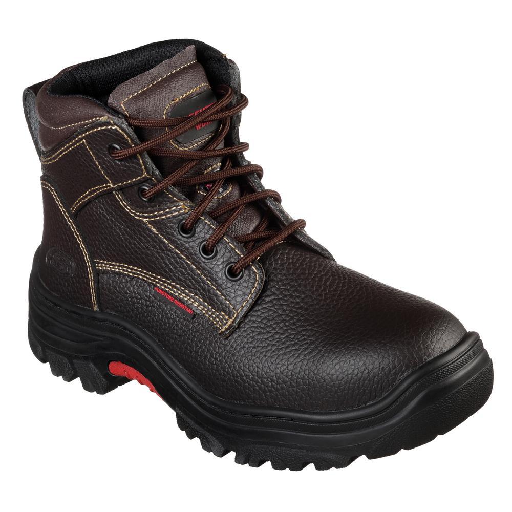 skechers mens brown boots
