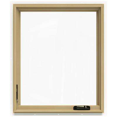 30.75 in. x 36.75 in. W-2500 Left-Hand Casement Wood Window