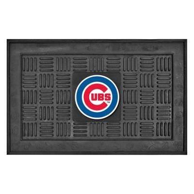 Chicago Cubs 18 in. x 30 in. Door Mat