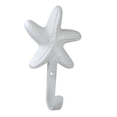 Star Fish 5 in. (130 mm) White Hook