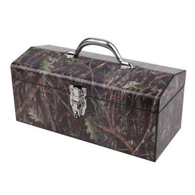 16 in. Conceal Art Tool Box, Green