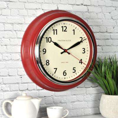 12.5 in. H Cayenne Wall Clock