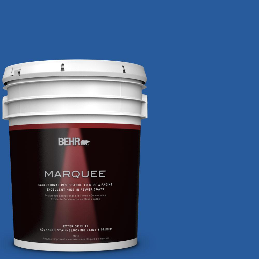 5-gal. #P510-7 Beacon Blue Flat Exterior Paint
