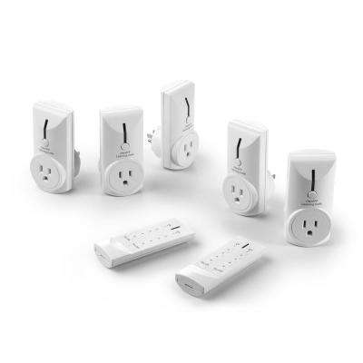 Wireless Remote Control Electrical Outlet Switch for Household Appliances and Electronics