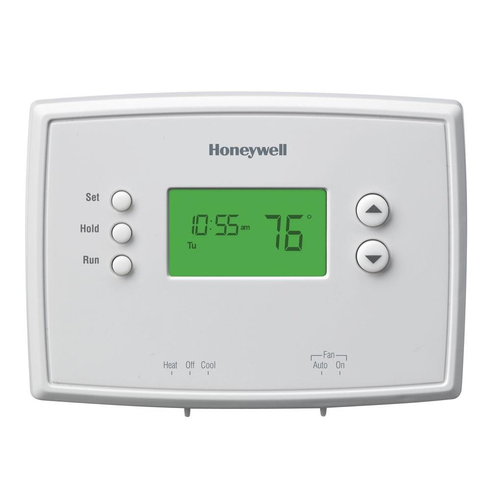 Honeywell Rth2300 Rth221 Thermostat Wiring Diagram | Wiring Liry on