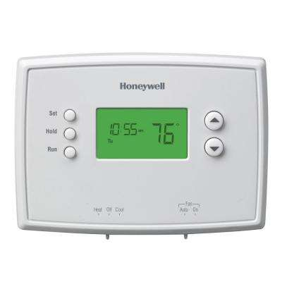 7-Day Programmable Thermostat with Backlight