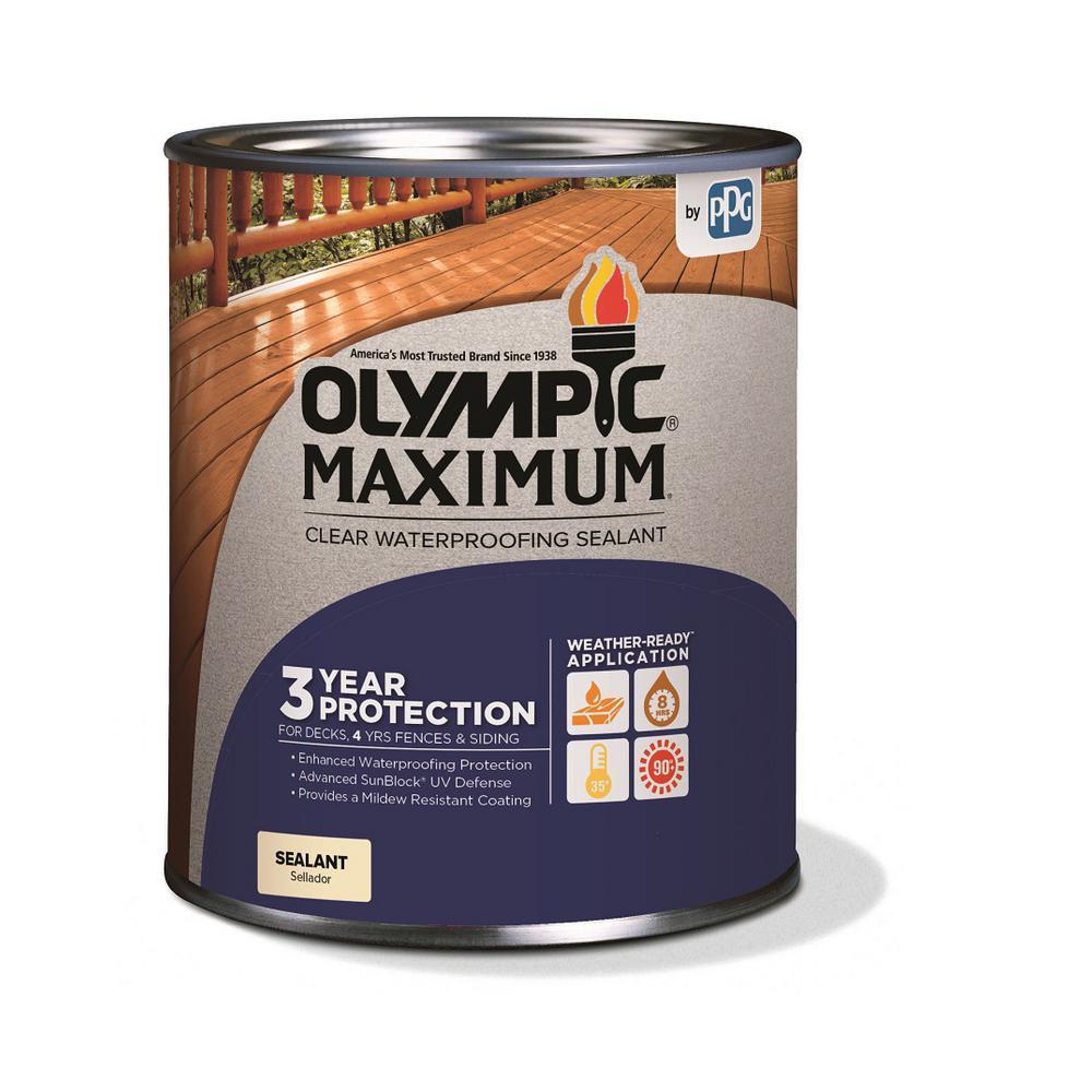 Maximum 1-qt. Clear Exterior Waterproofing Sealant