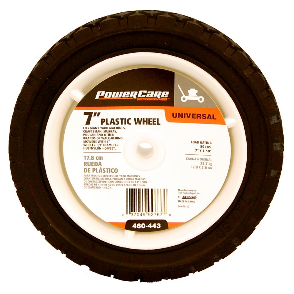 Universal Plastic Wheel For Lawn Mowers