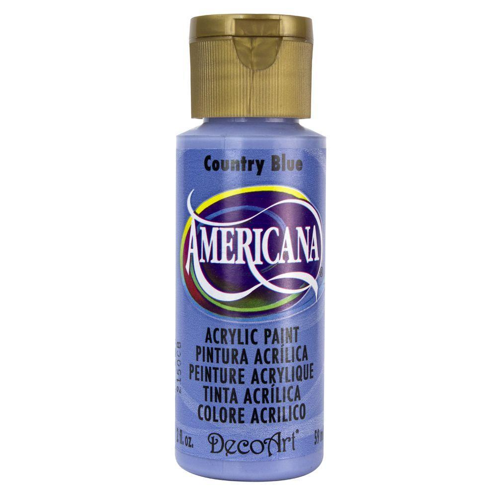 Americana 2 oz. Country Blue Acrylic Paint