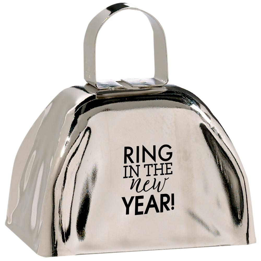 AMSCAN New Year's 3 in. Cow Bell (3-Pack)