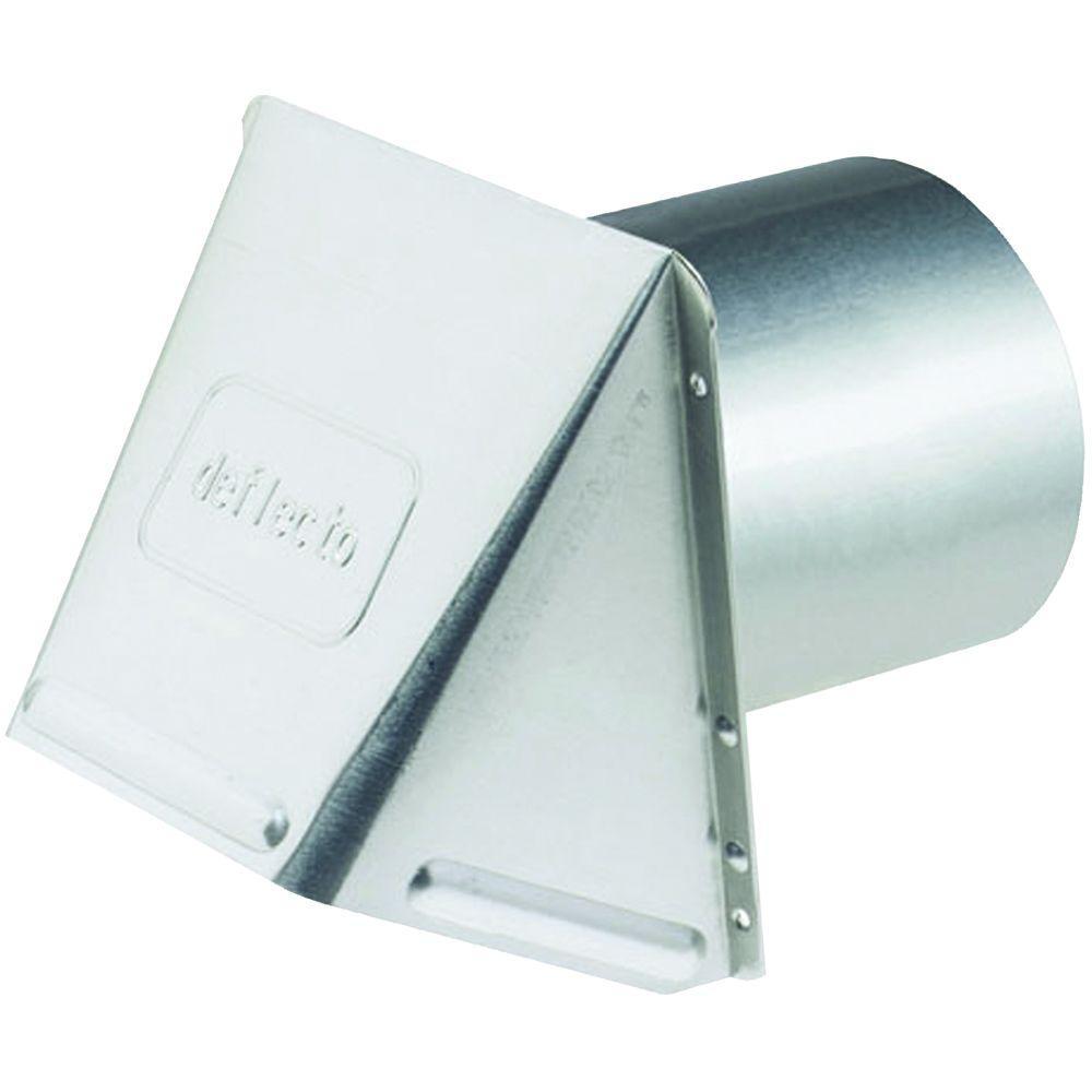 Deflect-o Corporation 7 in. Aluminum Wall Cap Vent