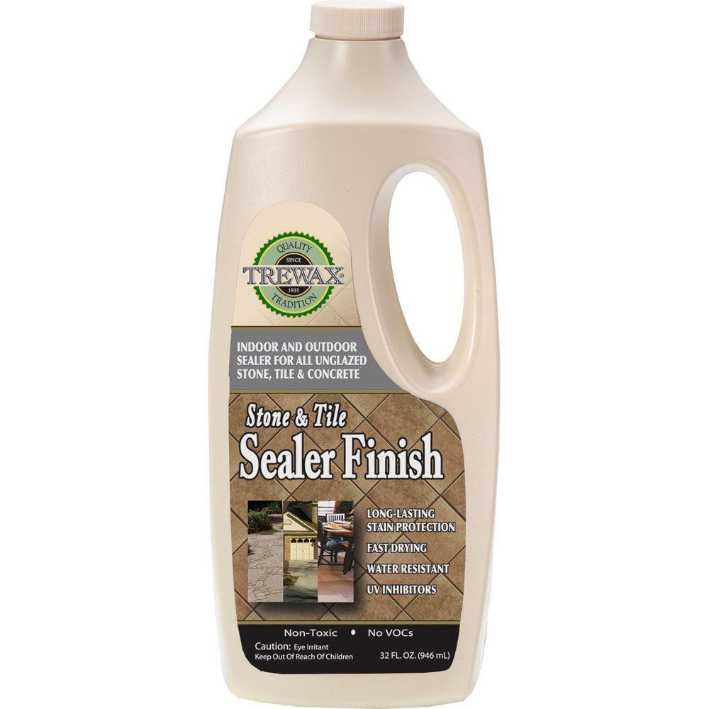 Trewax 32 oz stone and tile indoor and outdoor floor sealant finish stone and tile indoor and outdoor floor sealant finish 2 dailygadgetfo Image collections
