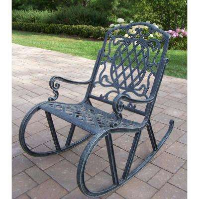 Mississippi Aluminum Outdoor Rocking Chair
