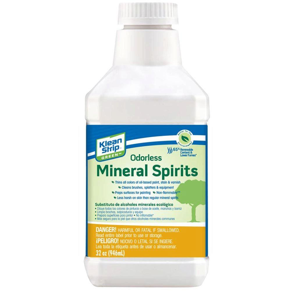 Klean-Strip 1 qt. Green Odorless Mineral Spirits