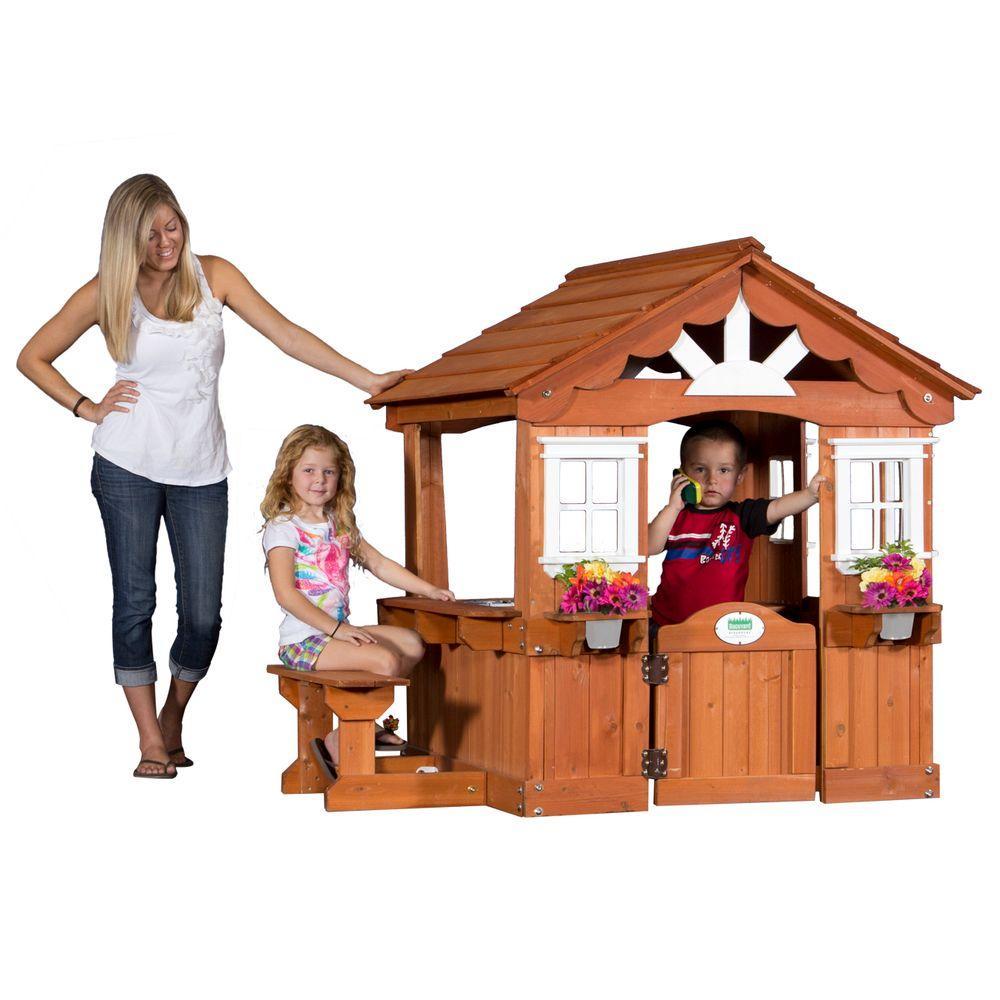 Backyard Discovery Scenic All Cedar Playhouse-36013com ...