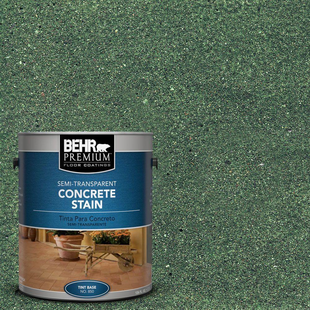 1 gal. #STC-15 Forest Slate Semi-Transparent Interior/Exterior Concrete Stain