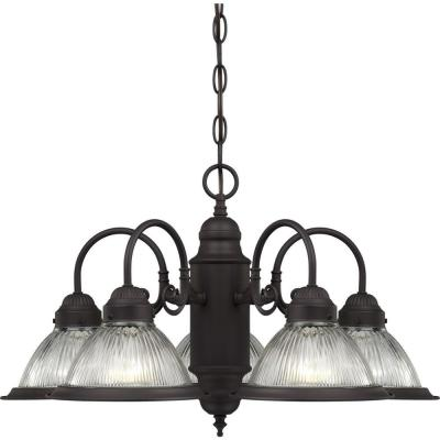 Roth 5-Light Antique Bronze Interior Chandelier
