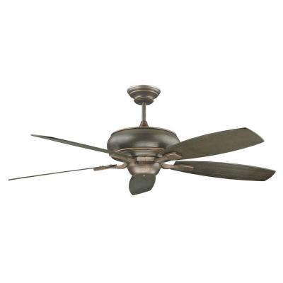 Roosevelt Series 60 in. Indoor Oil Bronzed Ceiling Fan