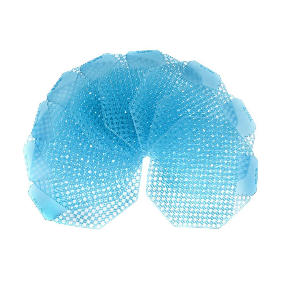 Cotton Blossom Fragrance Anti-Splash Urinal Screen (10-Pack)