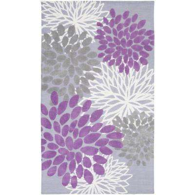 Charming Orchid 3 ft. x 5 ft. Indoor Area Rug