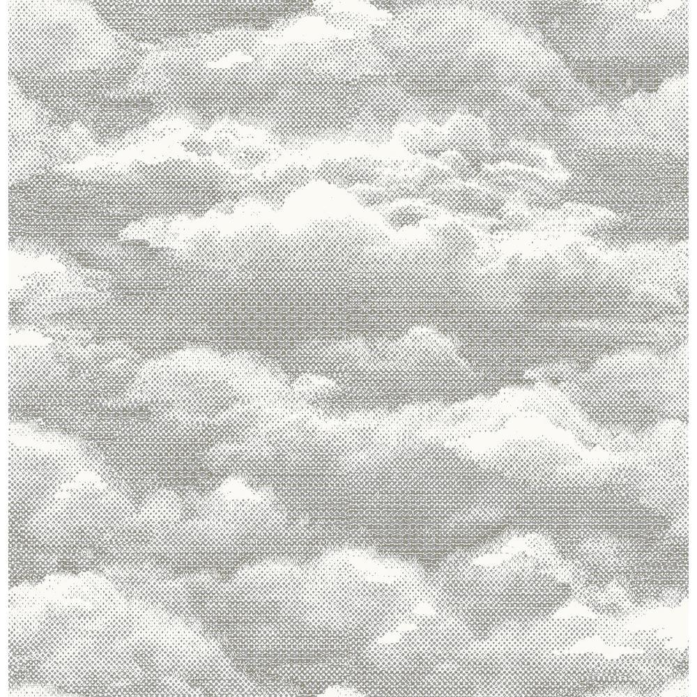 Solstice Opal Cloud Wallpaper Sample