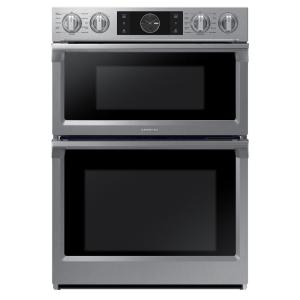 Samsung 30 In Electric Dual Convection And Steam Cook