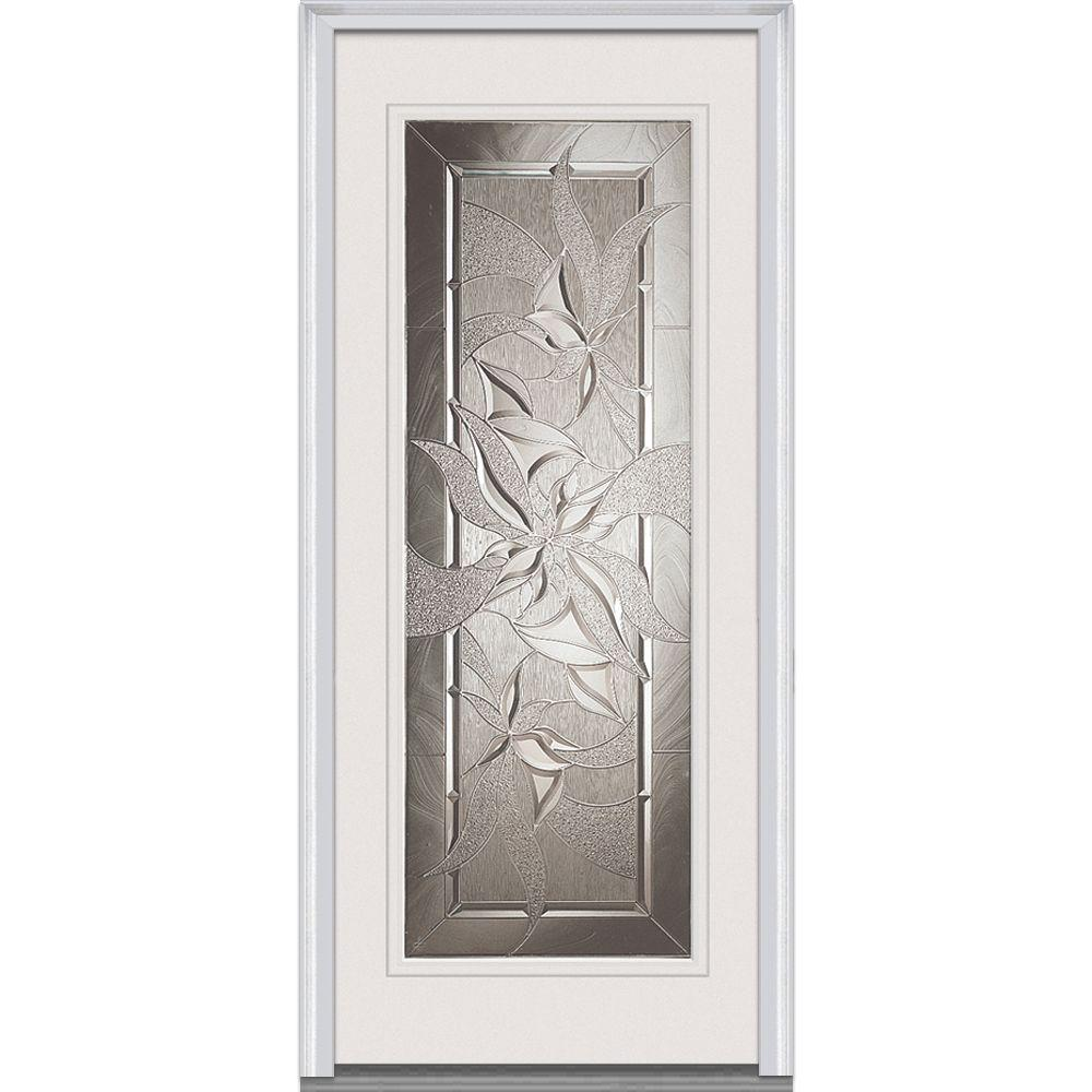 Impact Resistant Glass Fiberglass Doors Front Doors The Home Depot