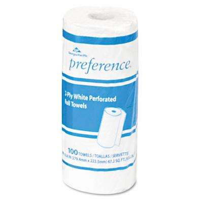 Preference White Perforated Roll Paper Towels (30-Rolls)